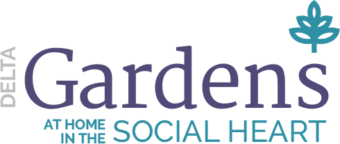 Delta Gardens Logo - At Home in the The Social Heart